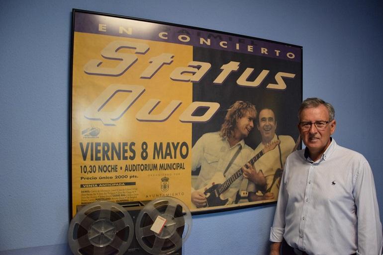 El hombre que dió a conocer a Damiel en toda España por sus conciertos se ha jubilado esta semana