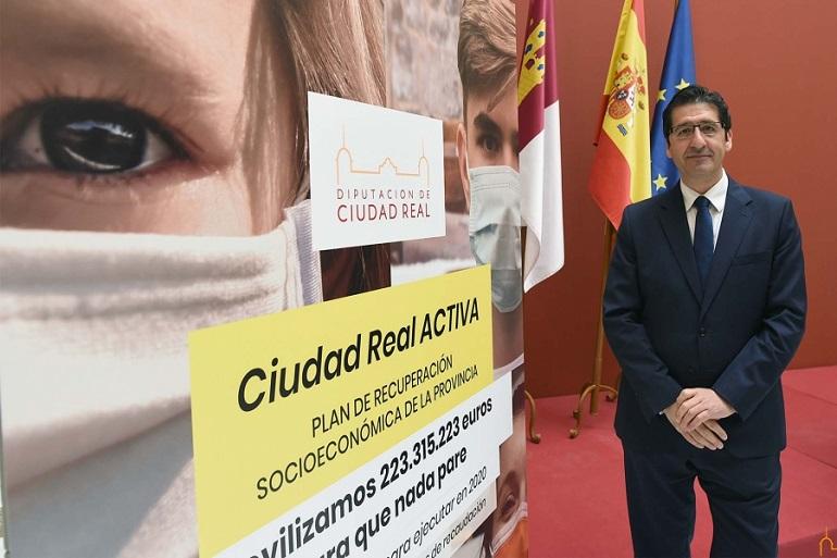 La Diputación moviliza más de 223 millones de euros, la mayor inversión de la historia, para combatir en la provincia la crisis económica causada por la COVID-19