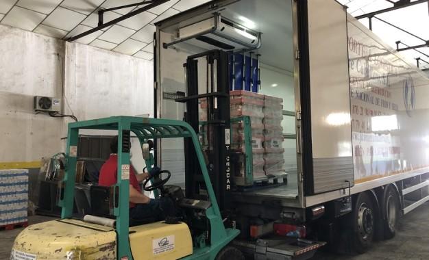 Mercadona entrega diez mil kilos de alimentos de primera necesidasd a entidades sociales de Ciudad Real