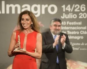 Almagro: Ana Belén, XX Premio Corral de Comedias
