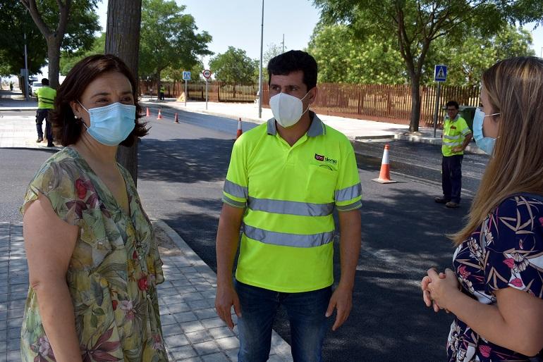 El Ayuntamiento de Ciudad Real invierte 143.000 euros en la mejora de la pavimentación de varias calles junto al Hospital General