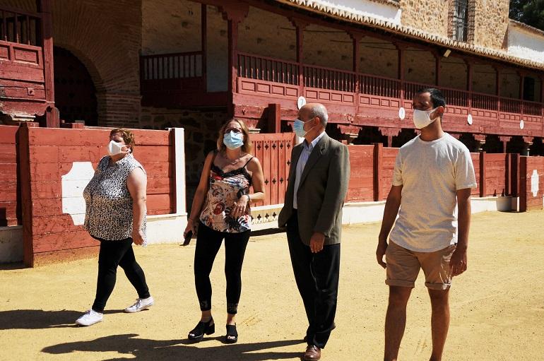 El Ayuntamiento de Santa Cruz de Mudela rehabilitará parte de la plaza de toros de Las Virtudes y su entorno