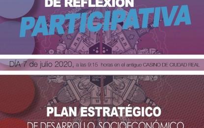 El IMPEFE organiza el 7 de julio una Jornada de reflexión participativa del Plan Estratégico de Desarrollo Socioeconómico de Ciudad Real