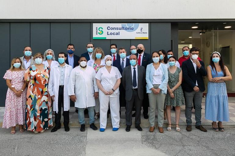 El presidente García-Page ha inaugurado hoy el Consultorio Local de Arenas de San Juan