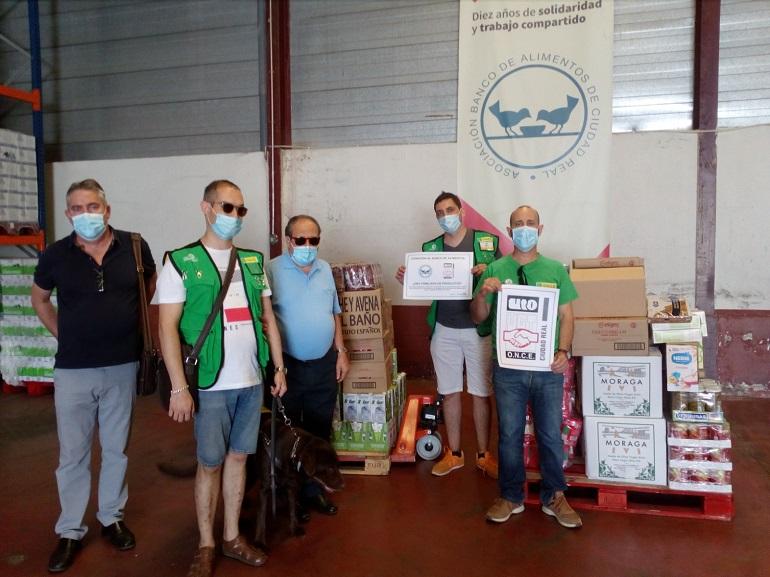 La ONCE dona 1.000 kilos de productos al Banco de Alimentos de Ciudad Real