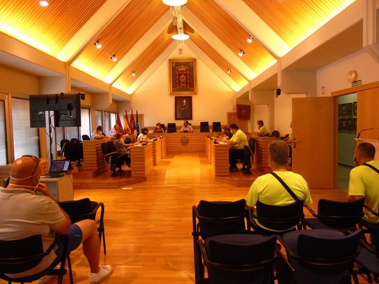Ciudad Real La Mesa de Negociación, a favor de la planificación de recursos humanos en Policía Local