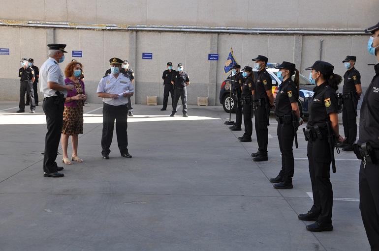 Un total de 17 Policias en prácticas se incorporan a las Comisarías de Policía Nacional de Ciudad Real y Puertollano