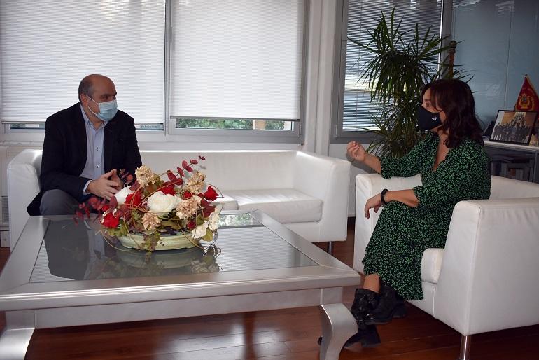 Ciudad Real Pilar Zamora aborda con el delegado de Sanidad las medidas para la contención de la COVID-19