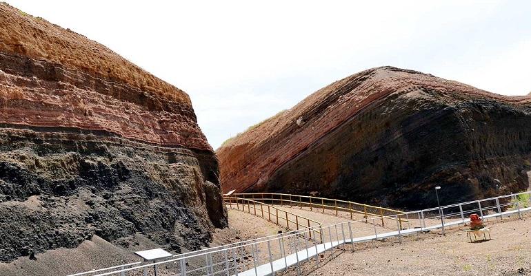 El Geoparque Volcanes de Calatrava delimita zonas y rutas como punto de partida para ser reconocido por la Unesco