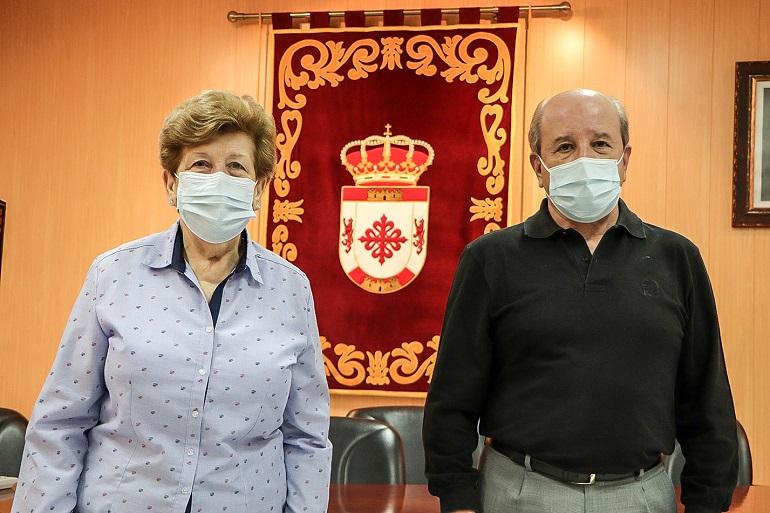 Fredes Trapero y Cándido Menchén, jueces de paz de Argamasilla de Calatrava