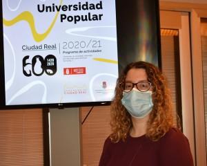 La Universidad Popular de Ciudad Real  cubre más de la mitad de sus plazas disponibles en actividades y talleres