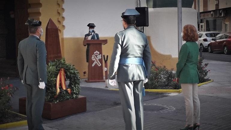 La subdelegada del Gobierno en Ciudad Real felicita en la Comandancia a la Guardia Civil por la festividad de su Patrona, la Virgen del Pilar