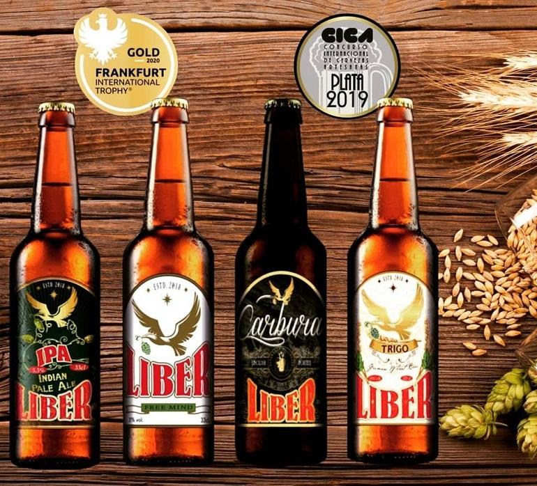 Puertollano Cerveza Liber obtiene dos medallas de oro en el V Concurso Internacional de Cerveza Artesana de Madrid