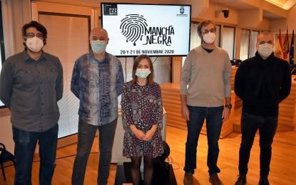 """Mancha Negra"" reúne a destacados autores  de novela negra este fin de semana en Ciudad Real"