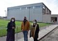 Ciudad Real: Pilar Zamora supervisa la evolución de las obras del pabellón polideportivo que se construye en Las Casas