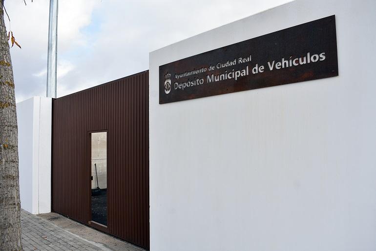 Ciudad Real Pilar Zamora visita las obras del nuevo depósito municipal de vehículos