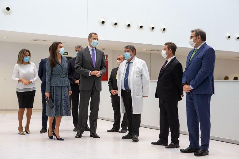 Inaugurado el Hospital Universitario de Toledo bajo la presidencia de los Reyes de España