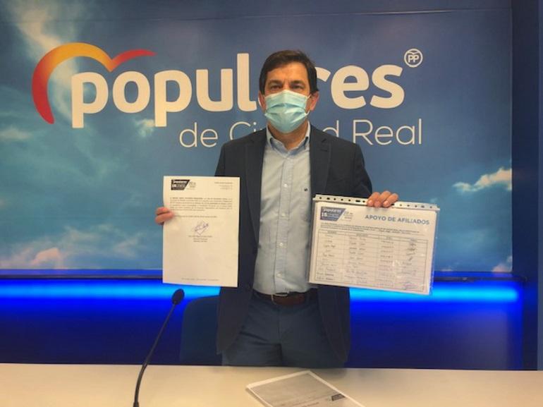 Miguel Ángel Valverde se perfila como único candidato a la presidencia del PP de Ciudad Real