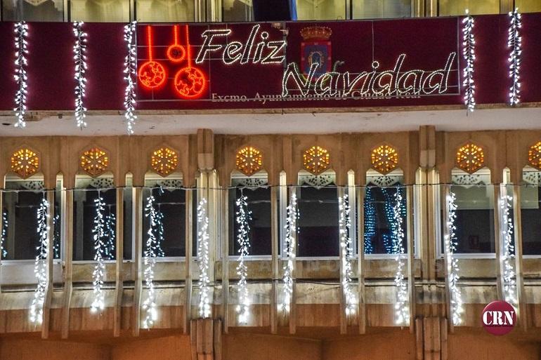 Ciudad Real La Plaza Mayor acoge esta tarde el tradicional encendido de luces de Navidad 2020