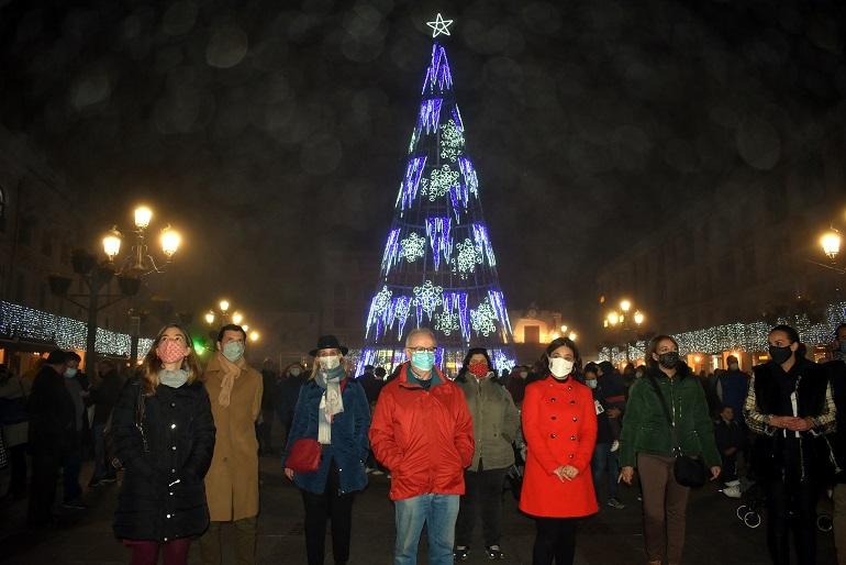 Ciudad Real Pilar Zamora desea unas navidades tranquilas y en familia a todos los vecinos