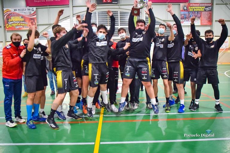 El BM Alarcos de Ciudad Real se lleva el Trofeo Diputación de Balonmano Juvenil Masculino celebrado en Pozuelo de Calatrava