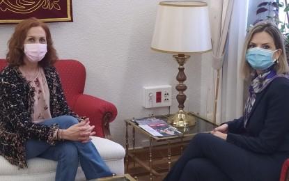 Reunión de la subdelegada del Gobierno con la nueva cónsul de Rumania en Ciudad Real