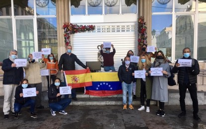 Venezolanos en Ciudad Real alzan la voz contra Maduro