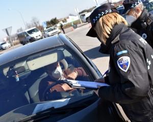Ciudad Real: Guardia Civil, Policía Nacional y Policía Local realizan controles aleatorios para controlar el cierre perimetral