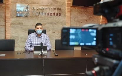 Valdepeñas ha recibido en 2020 una inyección pública y privada de 21.000.000 de euros