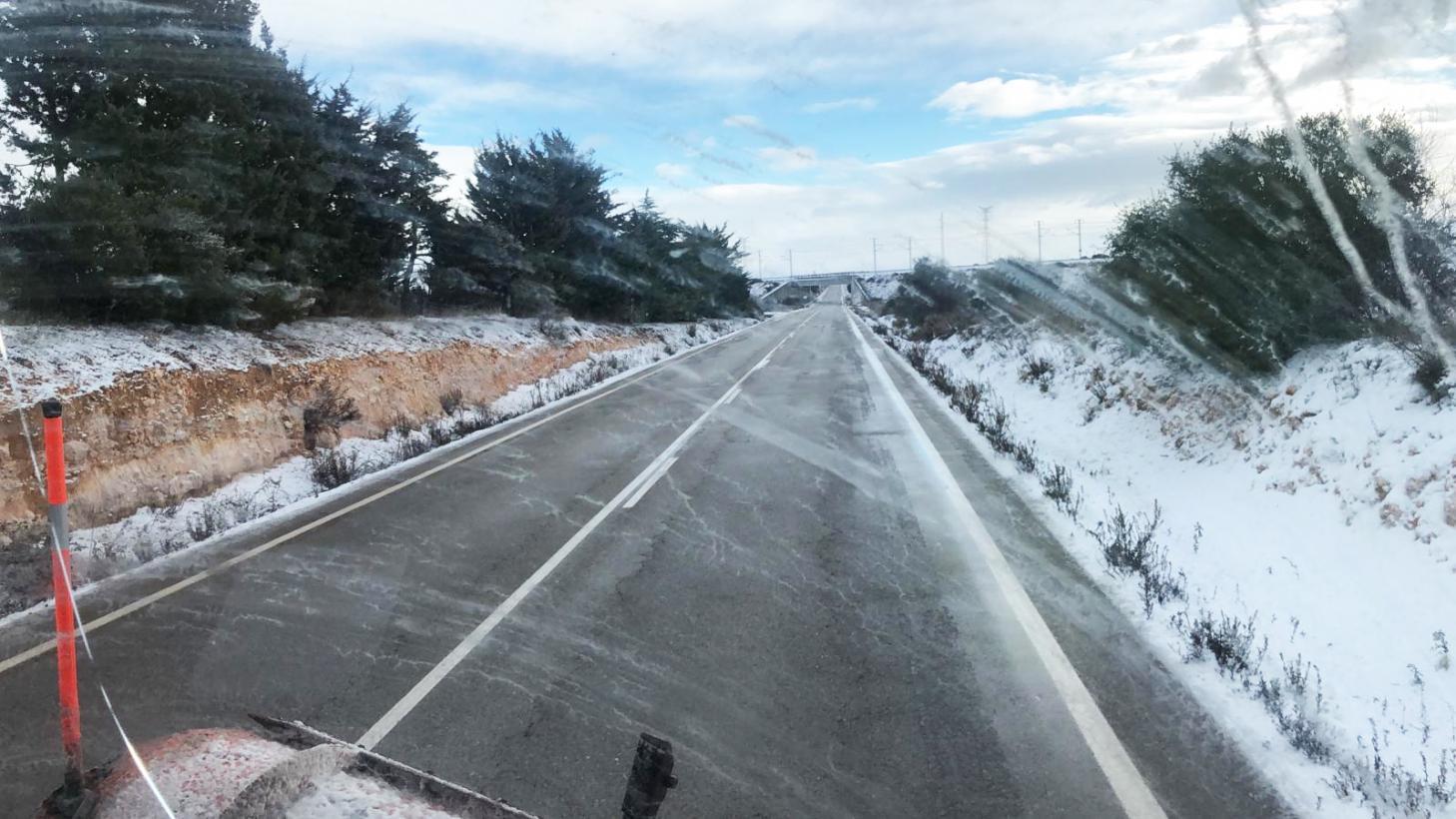 Castilla La Mancha activará esta noche el Plan de Vialidad en las carreteras ante el nuevo temporal que sufrirá la península