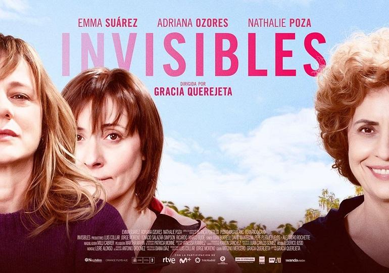 """Ciudad Real Invitaciones disponibles para la proyección de la película """"Invisibles"""" de Gracia Querejeta"""