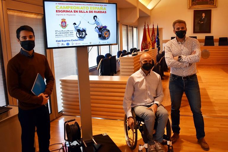 Ciudad Real acoge este fin de semana la segunda prueba del Campeonato de España de esgrima en silla de ruedas
