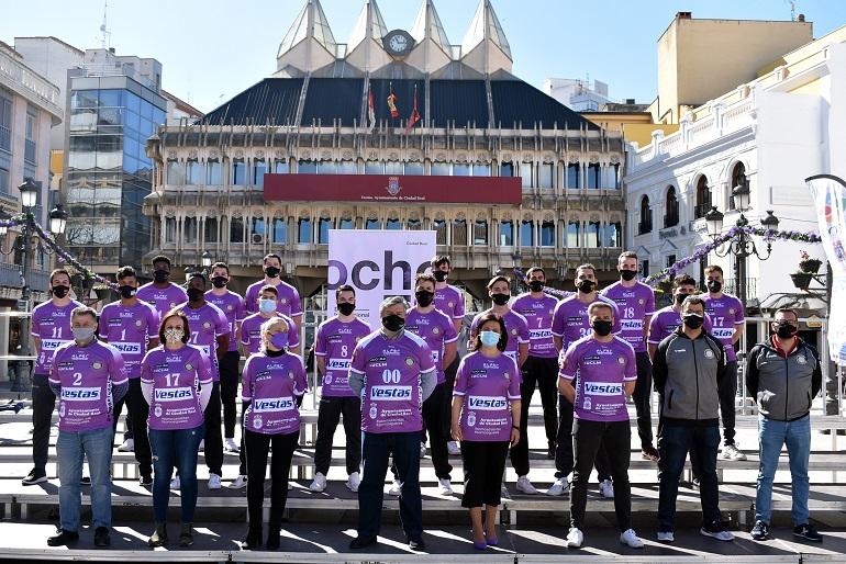 El BM Alarcos vestirá la camiseta de la igualdad de Ciudad Real en la fase de ascenso a Asobal