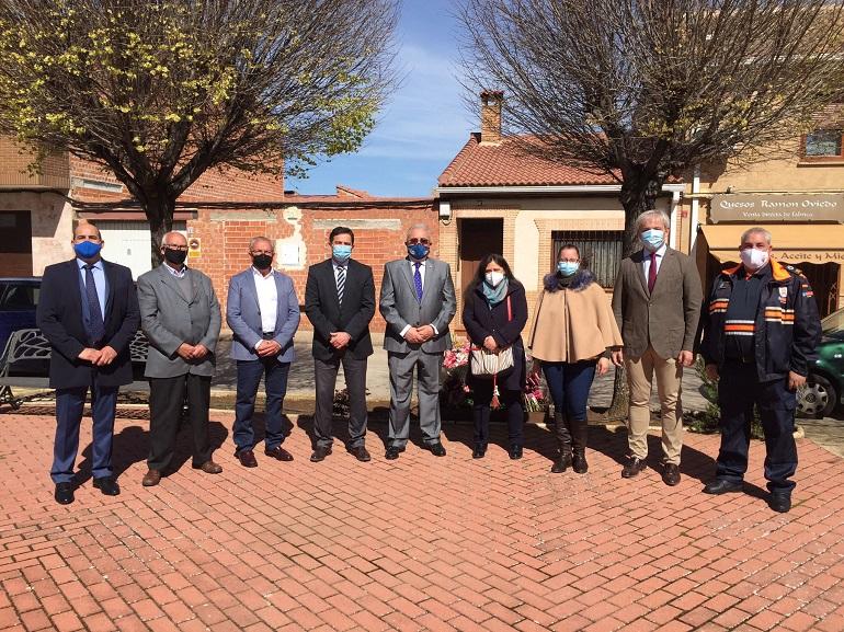El PP de Ciudad Real participa en el homenaje a las víctimas del terrorismo que cada año se celebra en Argamasilla de Calatrava