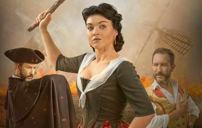 La obra basada en el personaje de 'La Galana' se estrenará en Valdepeñas el próximo 26 de marzo