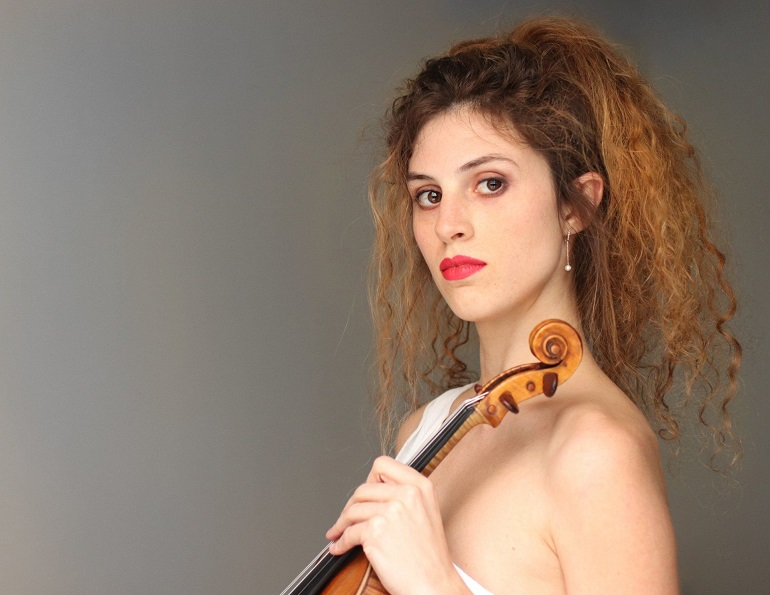 Ciudad Real El Arco del Torreón se abre a la cultura con el concierto de la virtuosa violinista Heidi Hatch