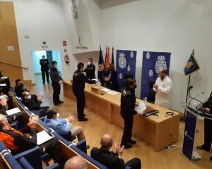Ciudad Real: Entrega de las menciones honorificas a personal de seguridad privada en el ámbito sanitario