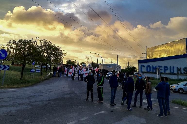 Contra el ERTE de Repsol Puertollano