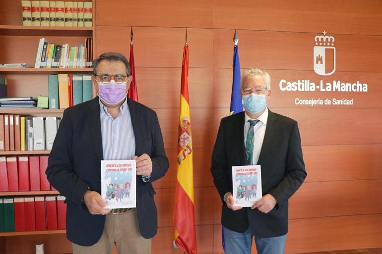 El Colegio Oficial de Enfermería de Ciudad Real ha editado el libro 'Únete a los Héroes contra la COVID-19'