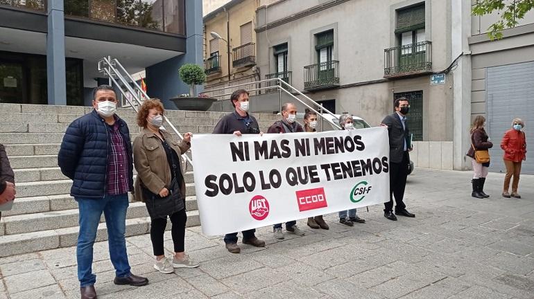 Puertollano Los sindicatos denuncian la falta de diálogo del Ayuntamiento con la nueva Relación de Puestos de Trabajo