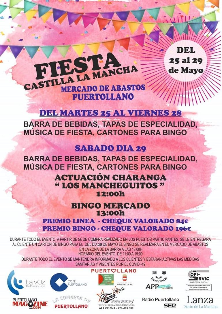 Fiesta de Castilla La Mancha en el Mercado de Puertollano