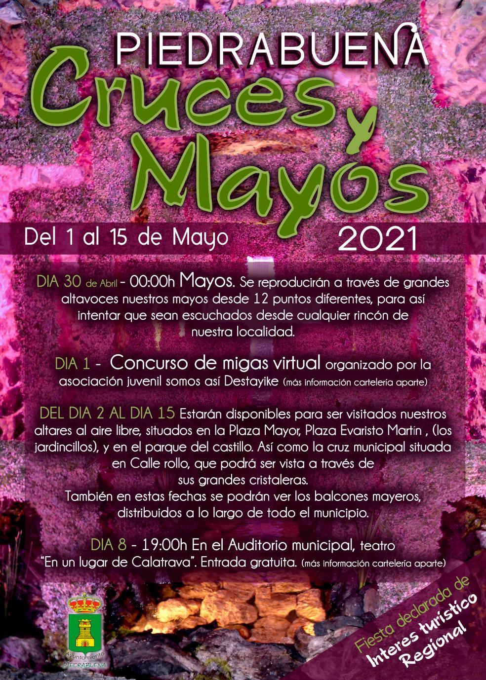 Piedrabuena Cruces y Mayos 2021 3
