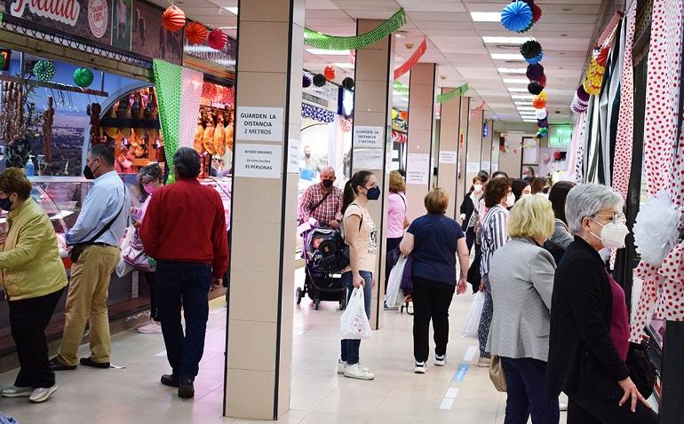 Puertollano El Mercado celebrará la fiesta de Castilla La Mancha con actuación de charanga y bingo