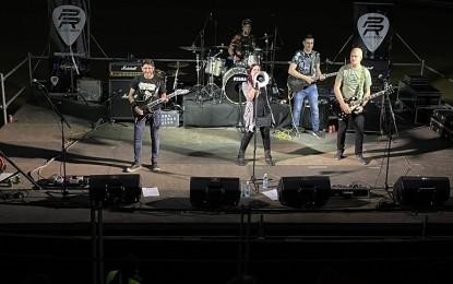Puertollano: Un millar de asistentes disfrutaron de Noches de Rock en la Plaza del Pueblo