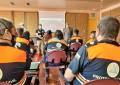 Ciudad Real: Una veintena de voluntarios de Protección Civil participan en un curso de apoyo logístico