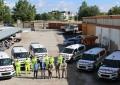 Las brigadas de carreteras de Ciudad Real tienen seis nuevas furgonetas