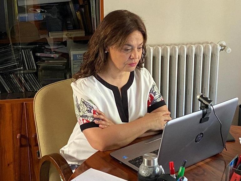 """Pilar Zamora """"El día 18 de Junio no tiene lugar un cierre de etapa, mi gestión, mi trabajo y mi ilusión están en Ciudad Real a la que pongo siempre por delante"""""""