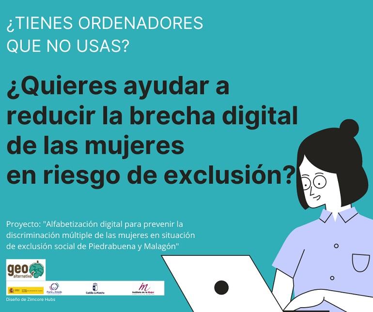 Disminuir la brecha digital de las mujeres del medio rural y la huella ecológica de la tecnología