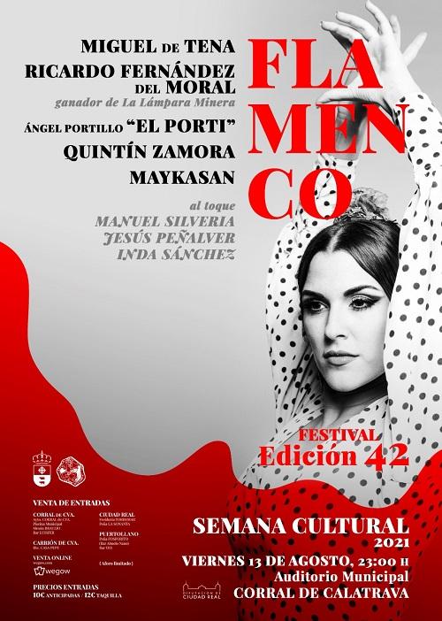cartel festival flamenco Corral