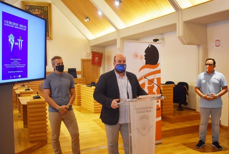 Ciudad Real El Manchego y el Villarrubia se enfrentarán en un partido que contribuirá de forma solidaria con la Asociación VivELA